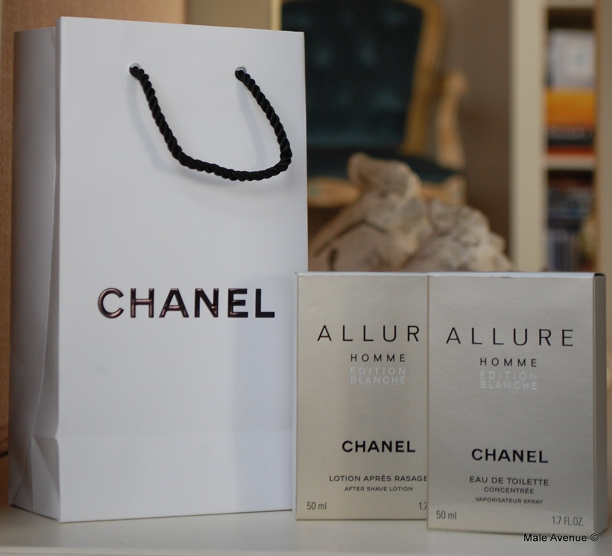 Chanel Allure Homme White Edition