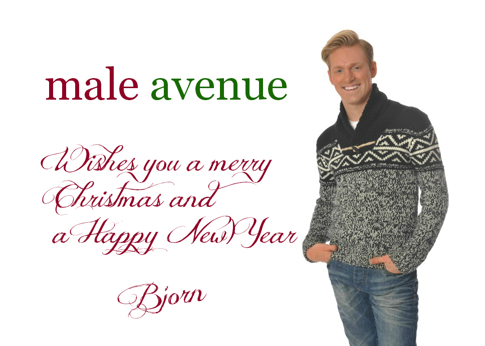 Merry Christmas from Male Avenue