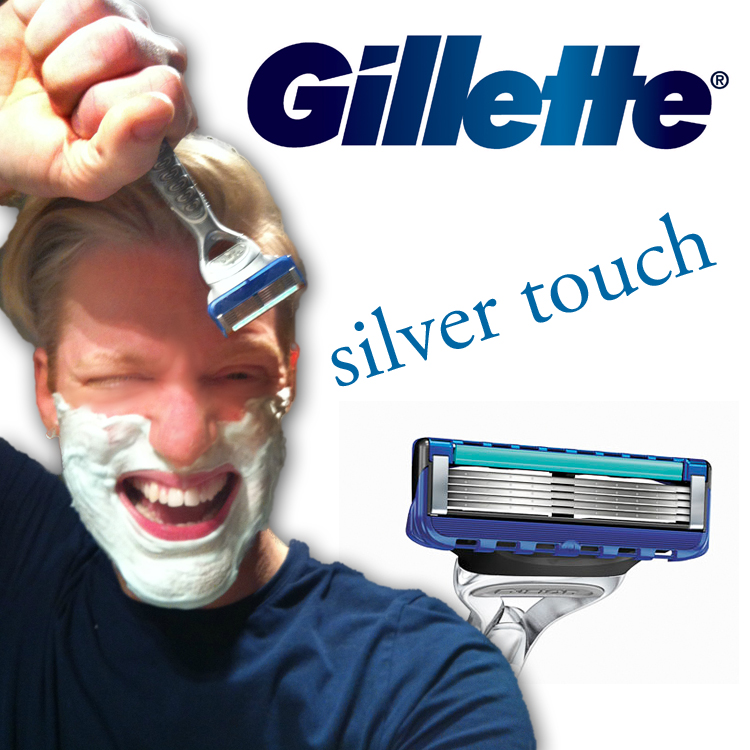Gillette Silver Touch