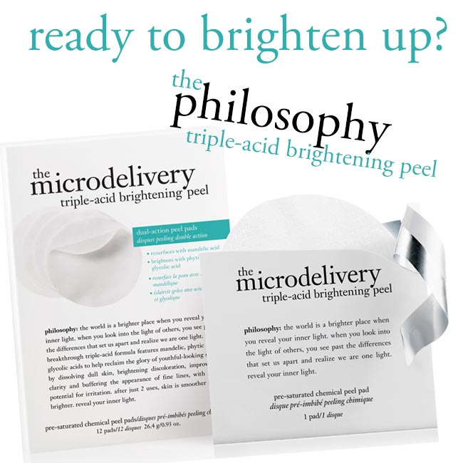 Philosophy Triple Acid Brightening Peel Pads